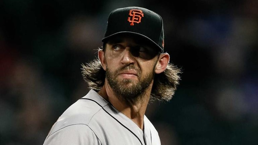 Dodgers troll Madison Bumgarner with ocean-themed music