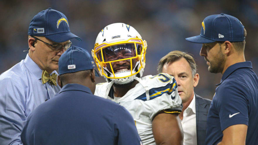 Chargers to place defensive back Adrian Phillips on injured reserve