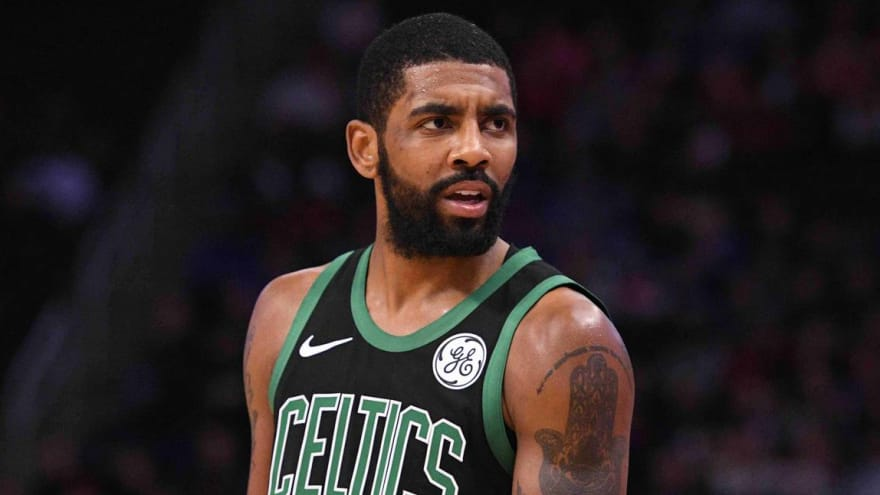 Kyrie Irving comments on Stephen Curry's moon-landing theory