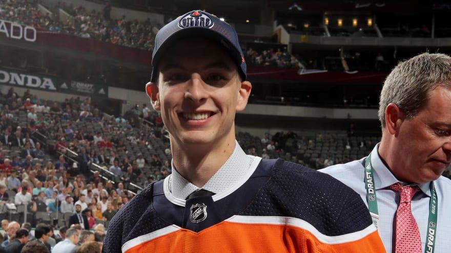 Edmonton Oilers sign top goalie prospect Olivier Rodrigue