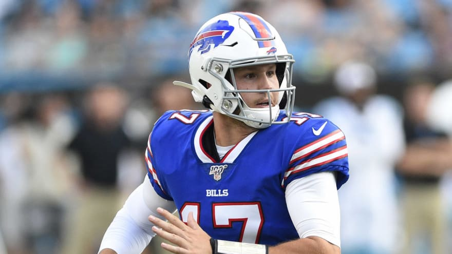 Watch: Bills' Josh Allen brings joy to grieving family after father passed away