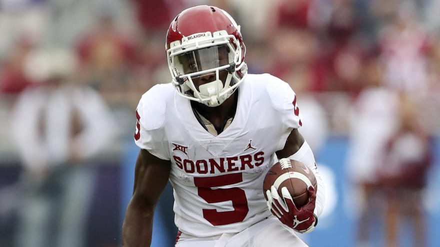 OU s Marquise Brown draft stock takes huge hit with combine measurements 04fef2dcc