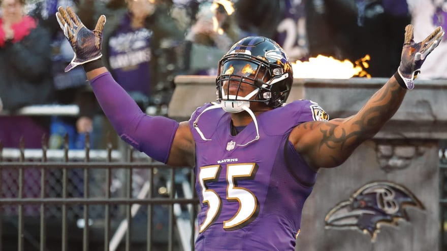 GM change impacted Terrell Suggs' decision to leave Ravens