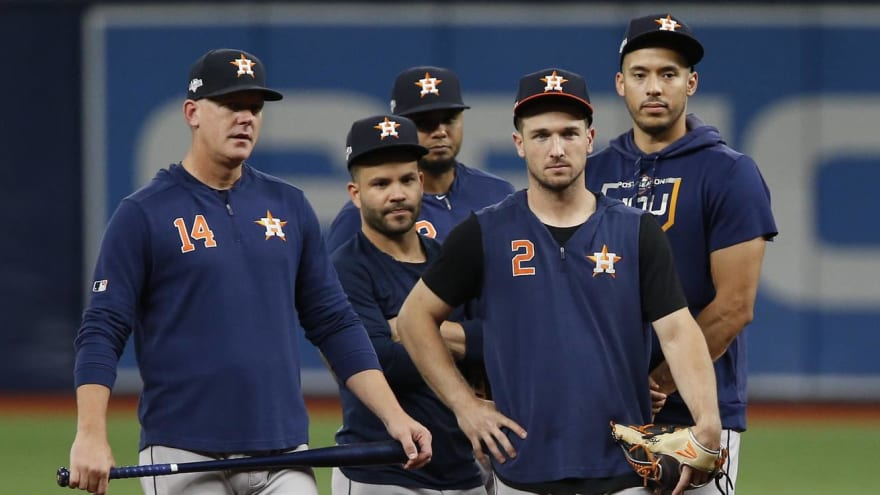 MLB found no evidence of wearable devices during Astros investigation