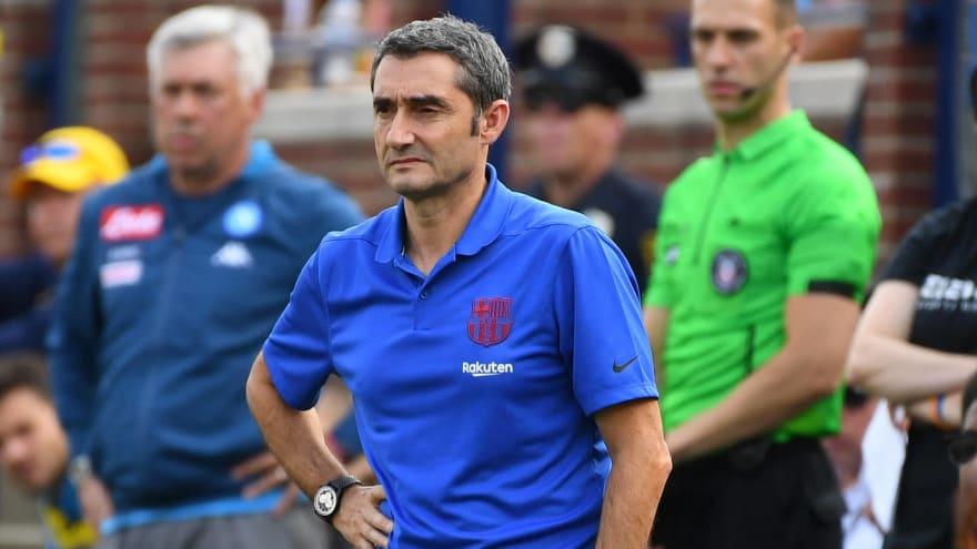 Ernesto Valverde gets caught between two Barcelonas