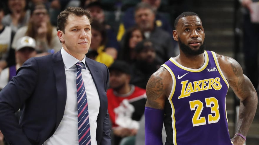 0cd79f1a4bce Luke Walton s failure with Lakers born from mishandling LeBron James ...