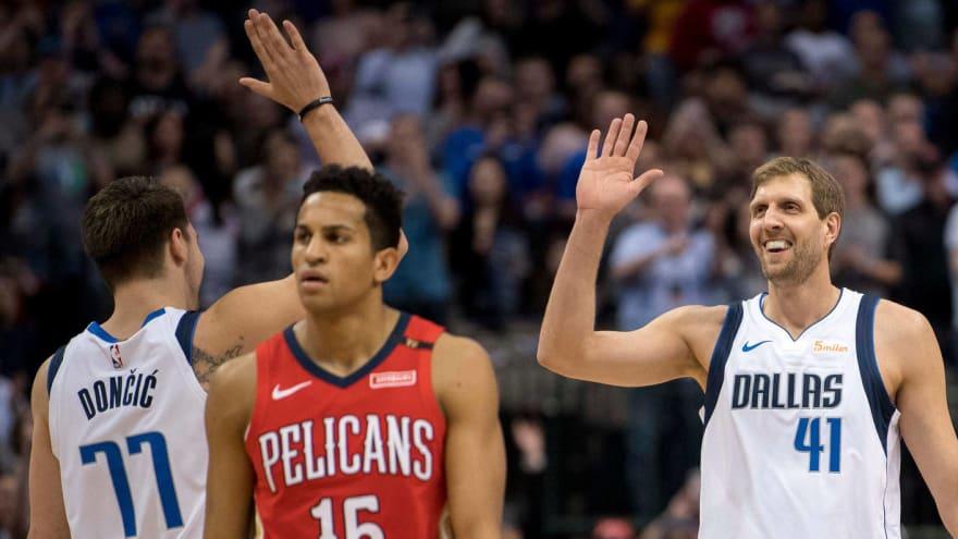 Watch: Dirk Nowitzki passes Wilt Chamberlain on NBA scoring list