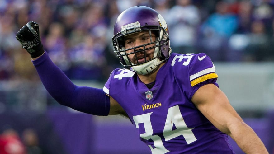 cb8a6b219 Eagles announce signing of former Vikings safety Andrew Sendejo ...
