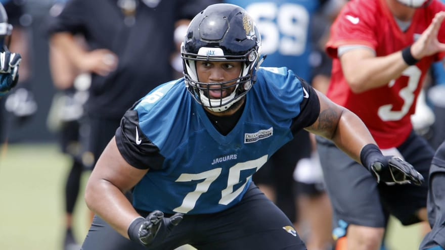 sale retailer bc4fb 127cb Jaguars place OT Will Richardson on IR to make room for ...