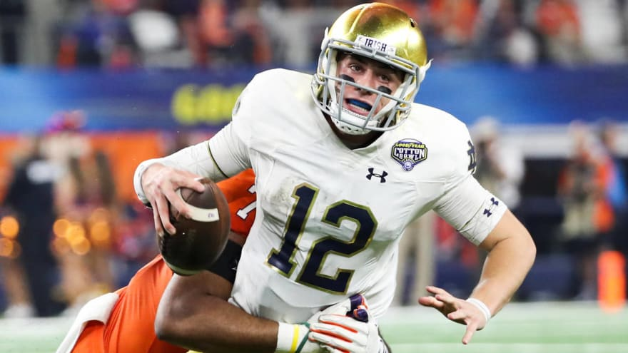 Brian Kelly credits Clemson D for helping Ian Book take big leap in growth