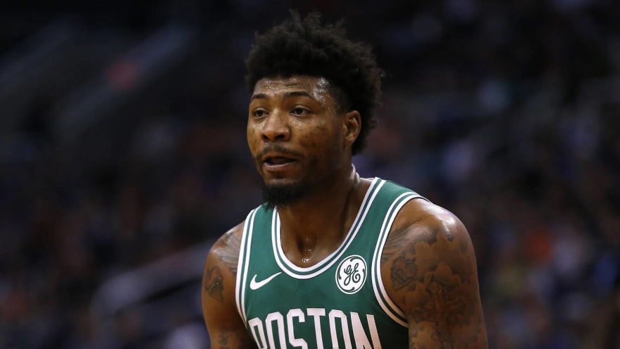 Marcus Smart blasts media for Kyrie Irving questions