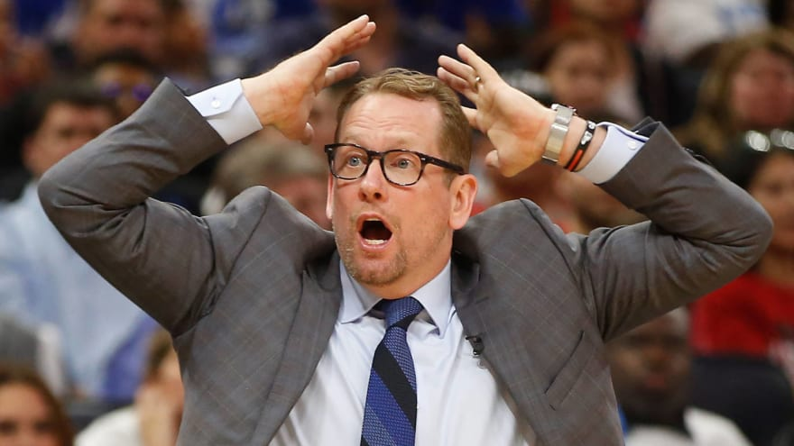 Nick Nurse unbothered that odds are against his Raptors