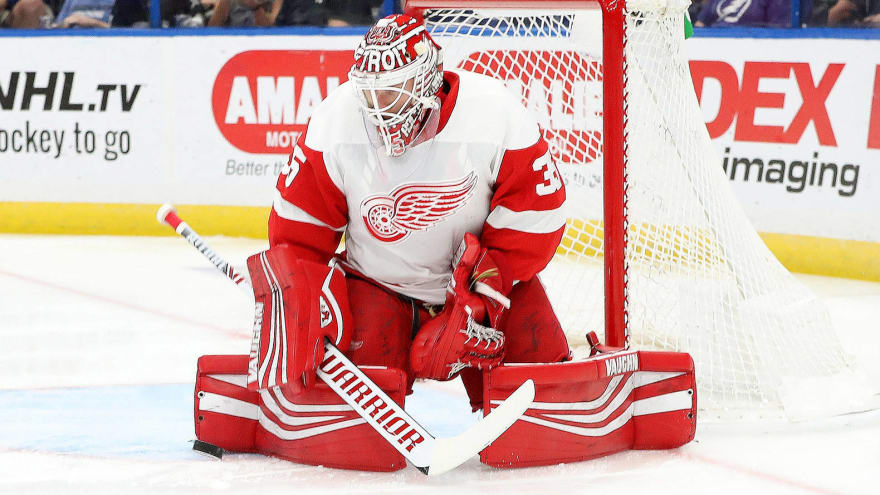 826126447 Red Wings reportedly hoping to sign Jimmy Howard to a multiyear extension
