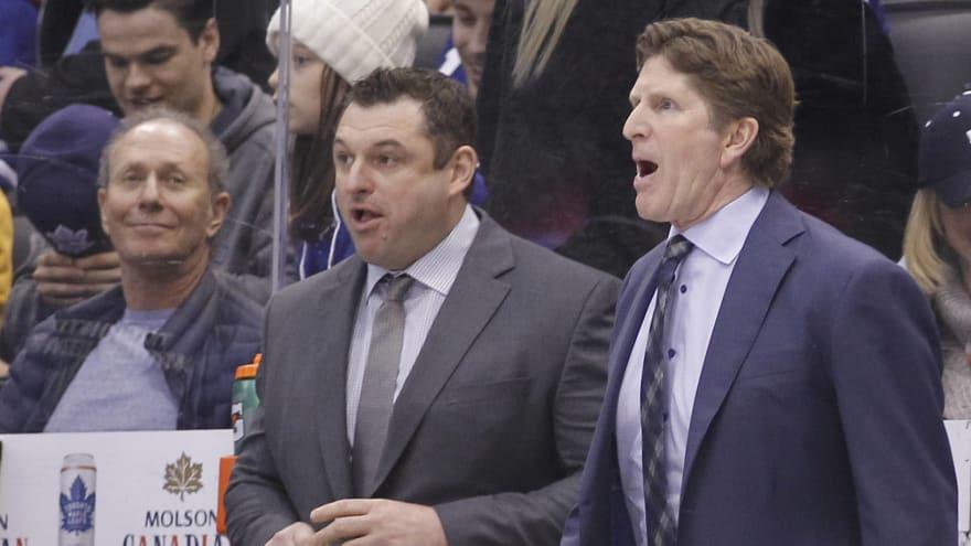 Senators name Maple Leafs assistant D.J. Smith as head coach