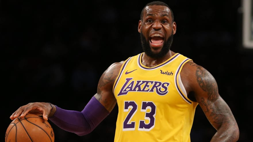 newest collection ff3a3 3d4f5 LeBron James set to return to practice next week | Yardbarker