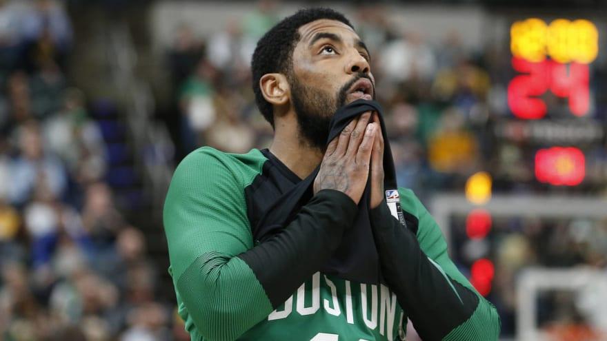Celtics are praying Kyrie Irving has fresh start in postseason