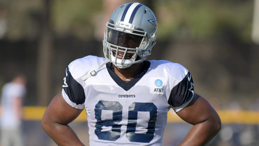 Browns reportedly sign former Cowboys TE Rico Gathers