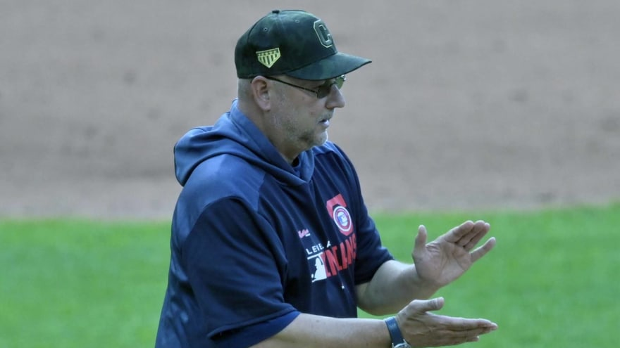 Indians manager Terry Francona will not troll Rays manager again