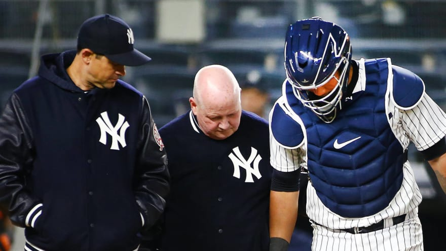 Report: Yankees make major changes to training staff after injury-filled season