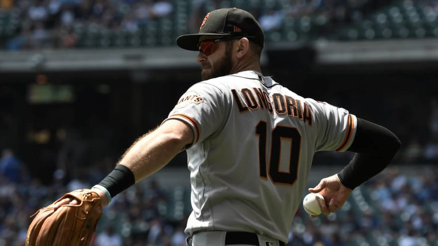 sports shoes ad39a 63fd5 Giants activate third baseman Evan Longoria from 10-day IL ...