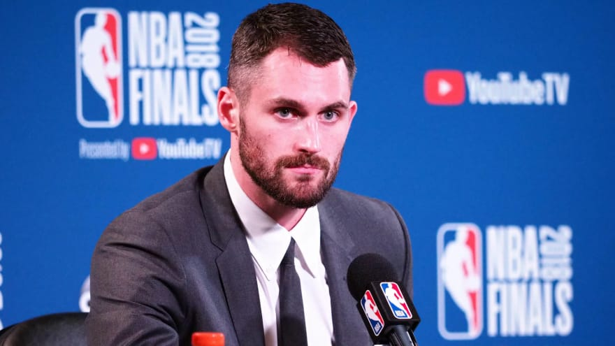 Kevin Love praises NBA's 'sense of community'