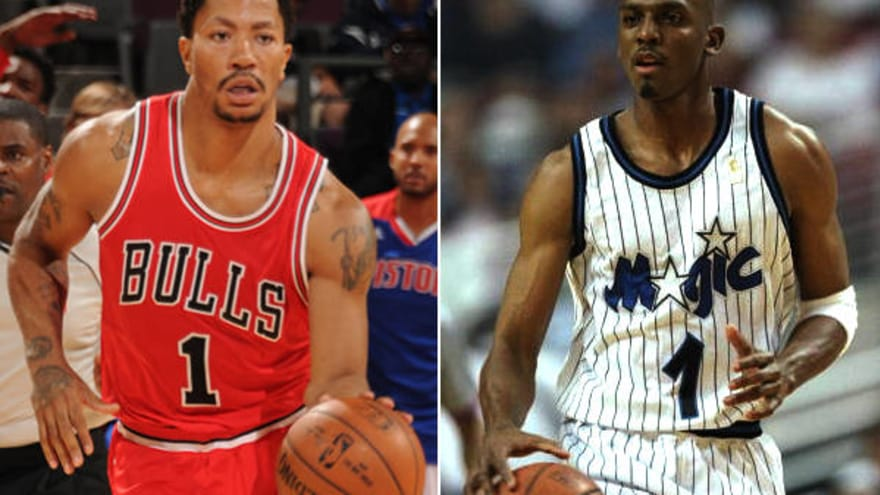 online store 63ff1 0781b The many parallels of Rose and Hardaway | Yardbarker