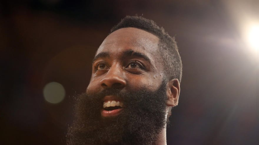 5026d6d4f383 James Harden says he has  no beef  with Dwight Howard