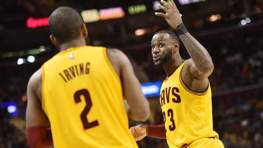 7a6514a3a3e2 Kyrie Irving fires back at LeBron James with funny Snapchat video ...