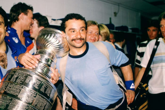 1984: First Black Stanley Cup Champion: Grant Fuhr