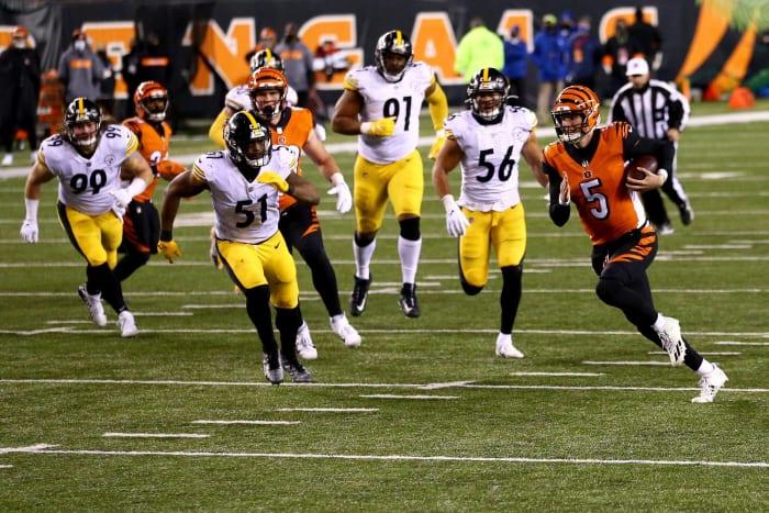 Bengals, third-stringer Ryan Finley stun Steelers