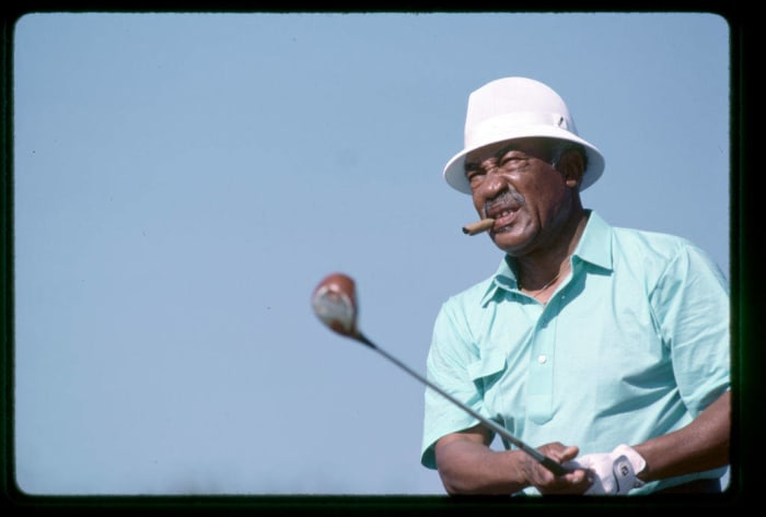 1961: First Black PGA Player: Charlie Sifford