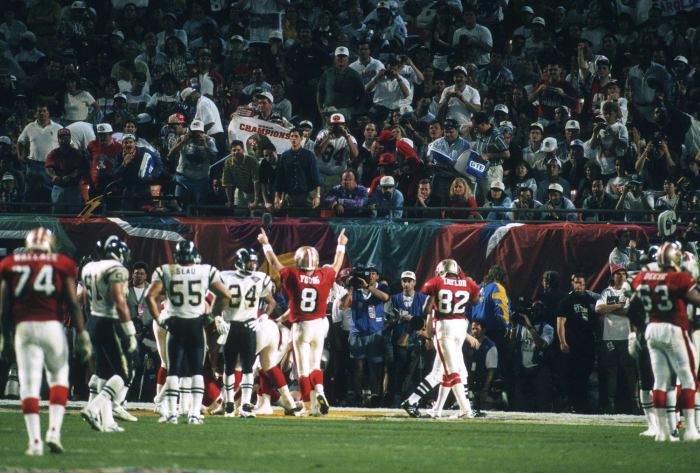 Super Bowl XXIX: San Francisco 49, San Diego 26