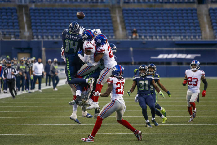 The Giants bottle up Russell Wilson and down the Seahawks