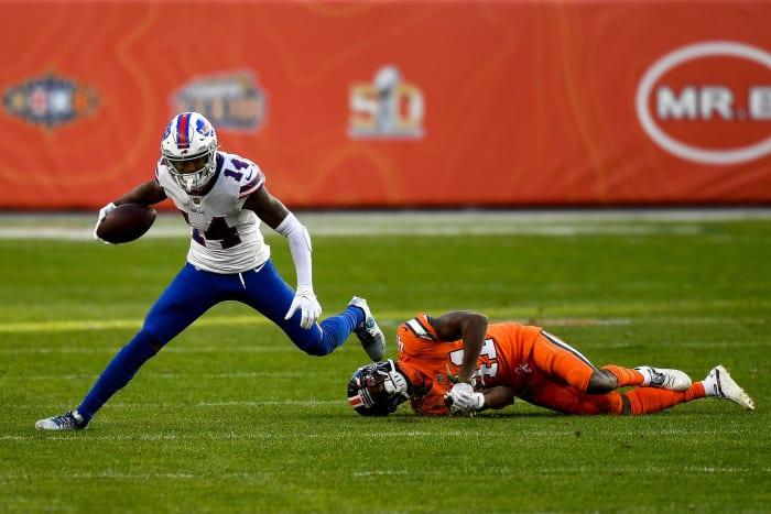 Stefon Diggs gives Bills higher playoff upside
