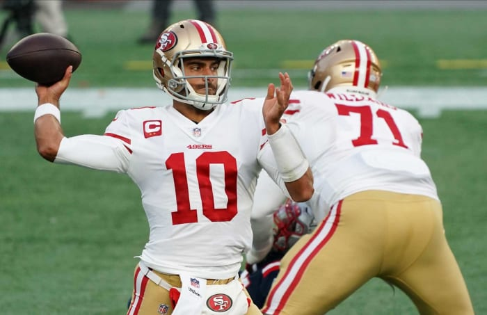 49ers trade Jimmy Garoppolo to Jets for Sam Darnold