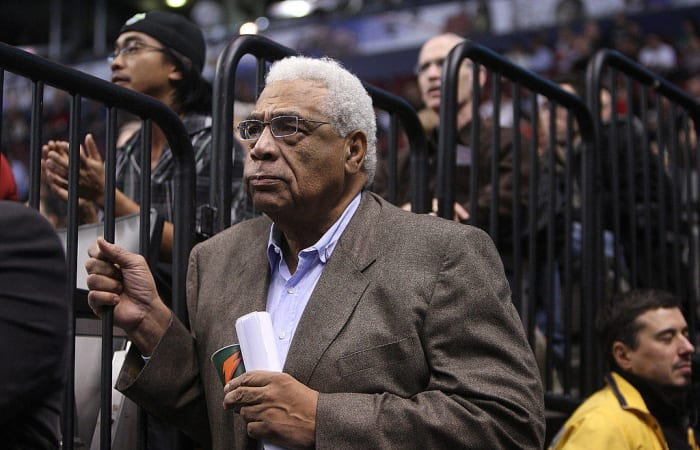 1972: First Black General Manager: Wayne Embry