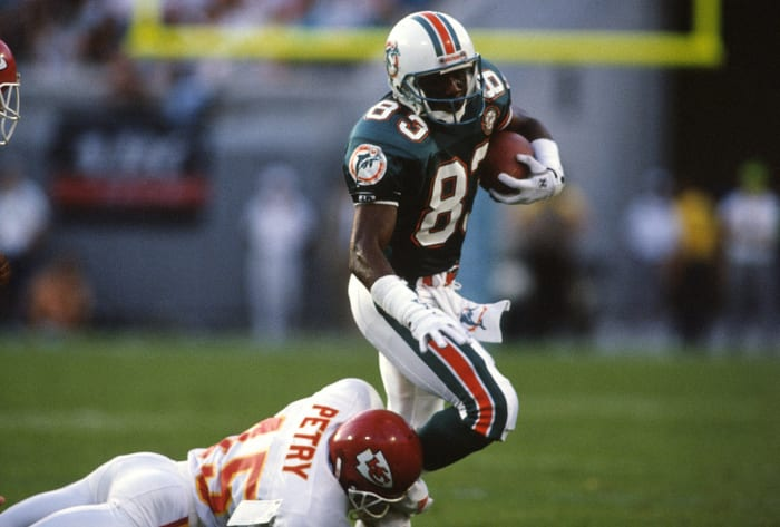 Miami Dolphins' best look: 1987-96 home