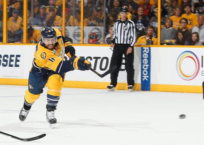 The Shea Weber offer sheet