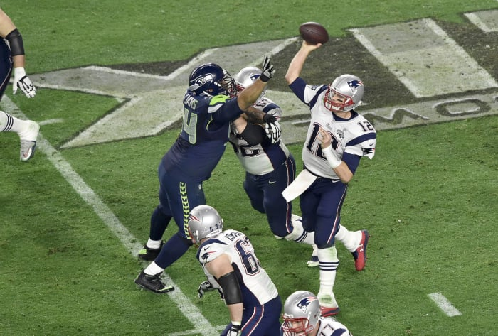 Tom Brady, QB, New England Patriots - Super Bowl XLIX