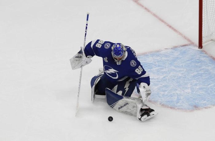 Vezina Trophy (best goalie): Andrei Vasilevskiy, Tampa Bay Lightning