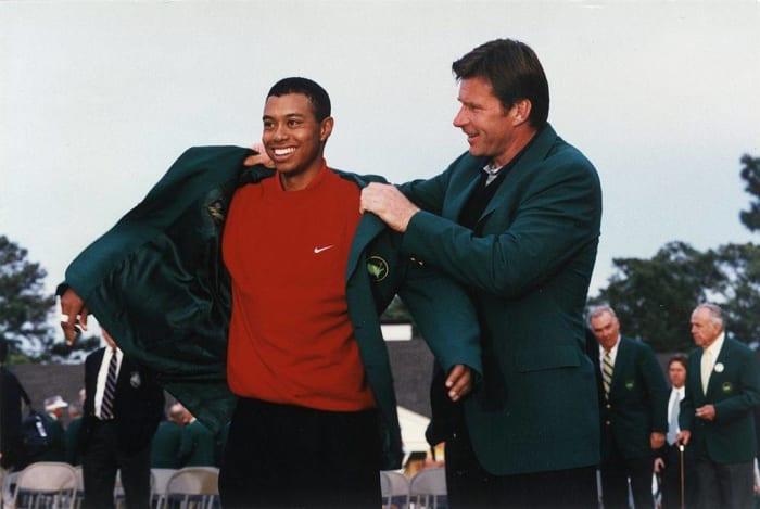 1997: First Black Golf Major Champion: Tiger Woods