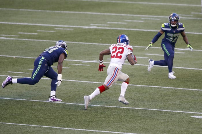 Pedestrian RBs gash top-tier Seahawks run defense