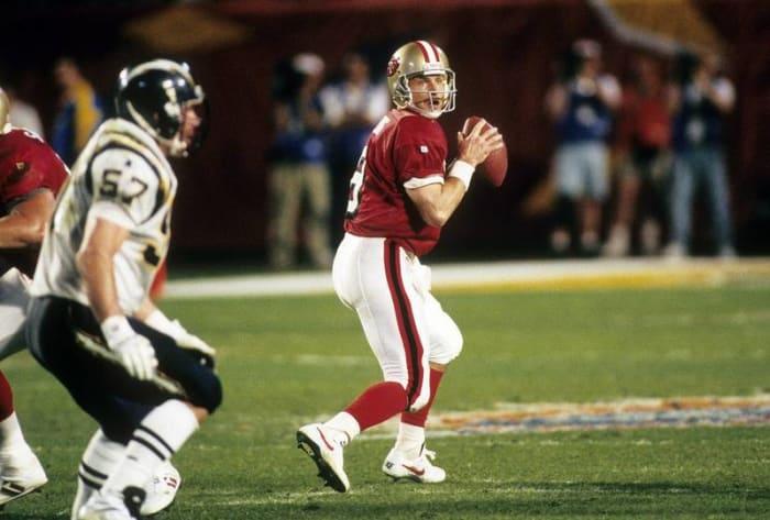 Steve Young, QB, San Francisco 49ers - Super Bowl XXIX