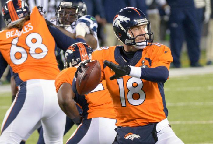 Peyton Manning, Age 37: Super Bowl XLVIII