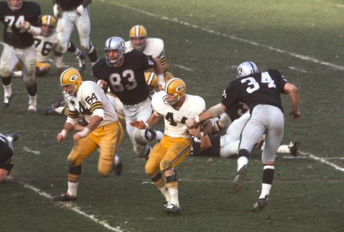 Super Bowl II: Raiders vs. Packers