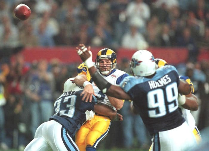 Kurt Warner, QB, St. Louis Rams - Super Bowl XXXIV