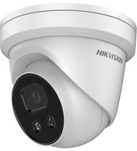 Hikvision DS-2CD2346G1-I AcuSense 4MP fixed lens Darkfighter turret camera with IR