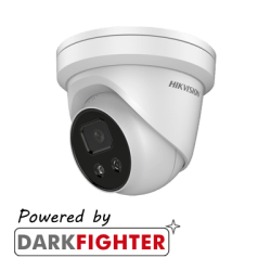 Hikvision DS-2CD2386G2-I AcuSense 8MP fixed lens Darkfighter turret camera with IR
