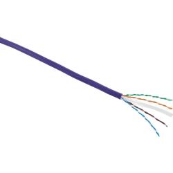 Excel Category 6 Cable U/UTP 24AWG Dca LS0H 305m Box - Violet