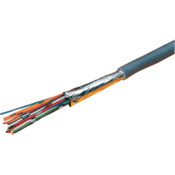 Excel Grey 8 Core Cable - 100 Metre Reel